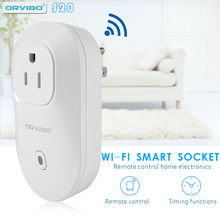 S20 Orvibo UE AU REINO UNIDO EE.UU. Socket Automatización Inteligente de Control del Hogar Inteligente para Teléfonos Inteligentes Wi-Fi Wireless Timer Interruptor de Pared Enchufe