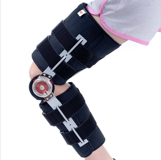 Free Shipping Length Adjustable Brace Angle Knee Support Brace Orthosis For Patellar Fracture Dislocation Knee Joint Support htton uv purple led integrated chips 365nm 375nm 385nm 395nm 405nm high power cob ultraviolet lights 3 5 10 20 30 50 100 watt