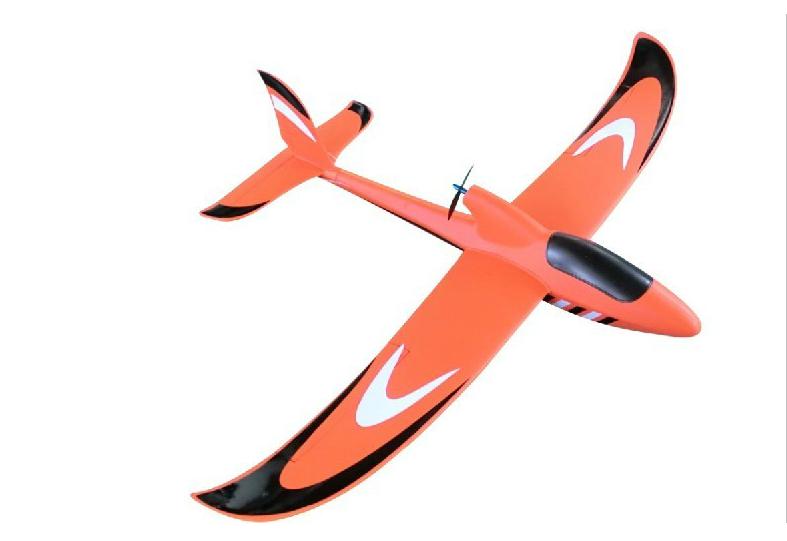 Orange 1400MM YI SKY glider RTF EPO aero model UAV Full set of configuration RC drones remote control plane model plane fpv x uav talon uav 1720mm fpv plane gray white version flying glider epo modle rc model airplane