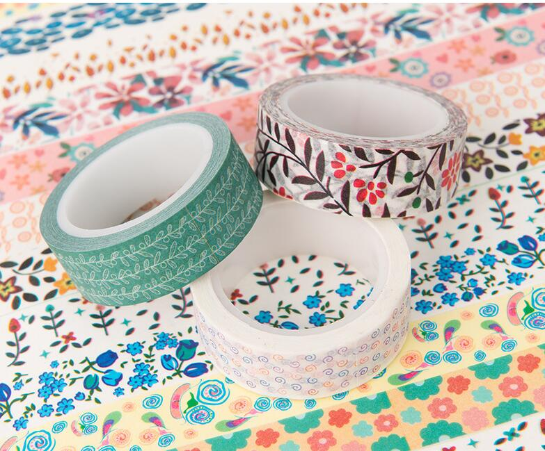 Washi Tape 15mm X 10m Art Supplies Umbrellas