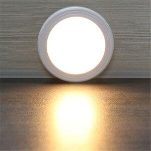 Image 1 - 6 LED אור מנורת PIR האוטומטי חיישן תנועת גלאי אלחוטי אינפרא אדום שימוש בבית מקורה ארונות/ארונות/מגירות /stairway