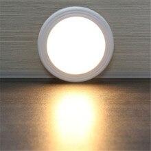 6 Lampada Della Luce LED PIR Auto del Sensore Rilevatore di Movimento Senza Fili A Infrarossi Uso In Casa Coperta armadi/armadi/cassetti /scala