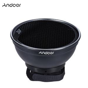 "Image 5 - Andoer 5.9"" (15cm) Silver Beauty Dish Diffuser Honeycomb for Neewer Canon Nikon Photography On camera Flash Speedlite Speedlight"