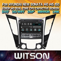 WITSON CAR DVD GPS for HYUNDAI NEW SONATA/i40/i45/i50 New Technology+Capctive Screen+1080P+DSP+WiFi+3G+DVR+Good Price