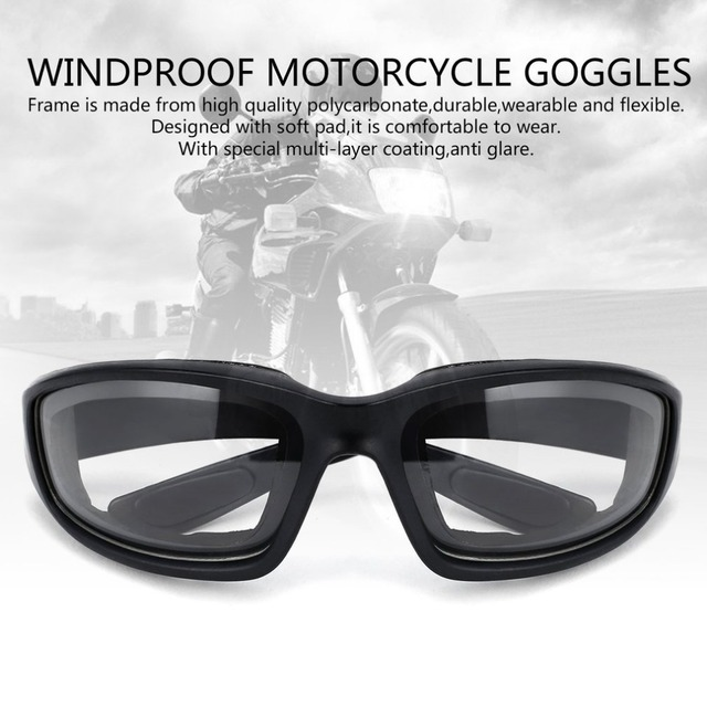 6559263f65 Motorcycle Glasses Army Polarized Sunglasses Windproof Motorcycle Goggles  Cool Motorcycle Accessory For Hunting Shooting Hot