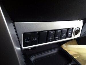 Image 2 - Sólo para la mano izquierda coche para Toyota RAV4 2016 2017 ABS accesorios Interior encendedor de cigarrillo caja decoración de Marco 1 piezas