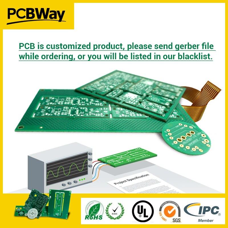 PCB Prototype PCB Fabrication fabricant cartes de circuits imprimés PCBWay, prix personnalisé n'est pas réel, pls envoyer des fichiers de circuits imprimés, lien de paiement