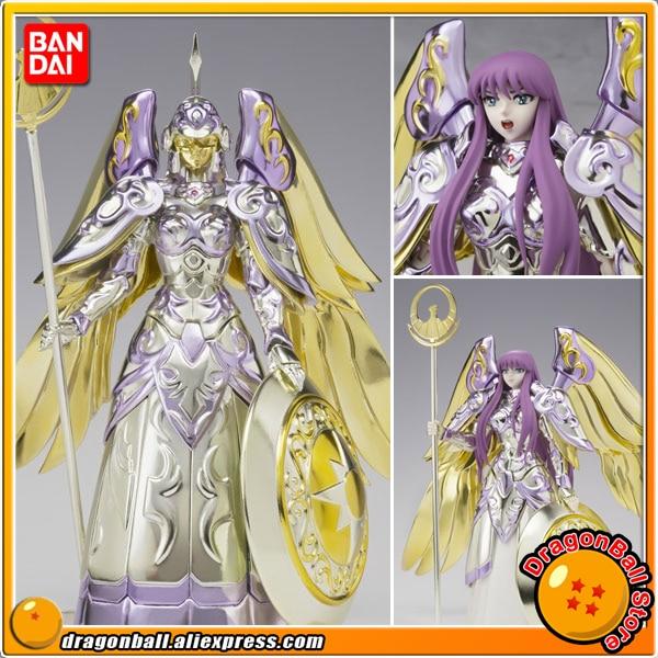 Japan Anime Saint Seiya Original BANDAI Tamashii Nations Saint Cloth Myth Action Figure - Athena saint