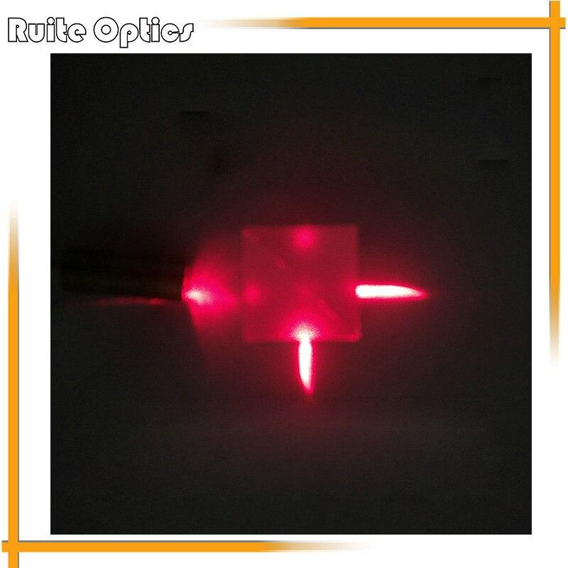 20x20x20mm Optical Glass Cube Dichroic Prism Splitting Ratio 50 50 Spectrometer Experiment Prisma