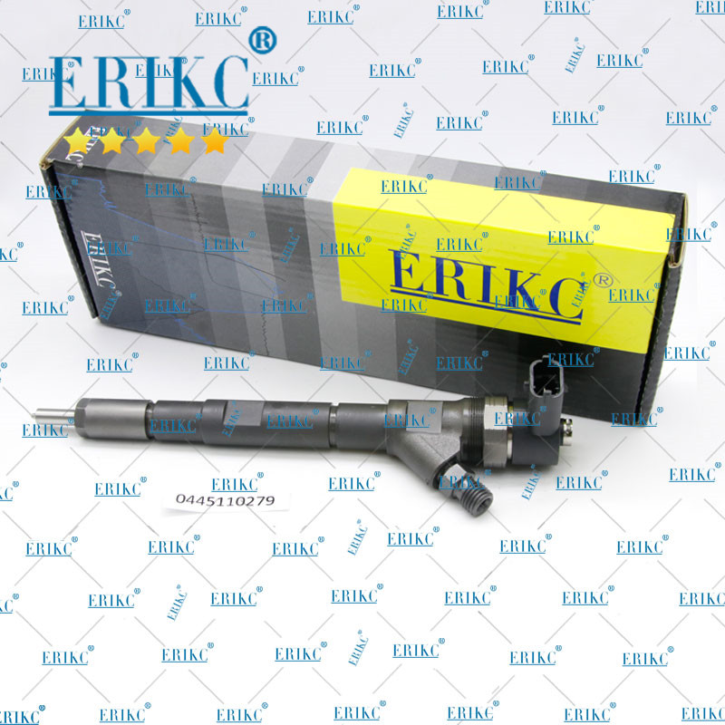 ERIKC 0445110730 Injector Spray 0445110279 Diesel Fuel Injector Nozzle 0445110186 for HYUNDAI 338004A150 33800 4A100