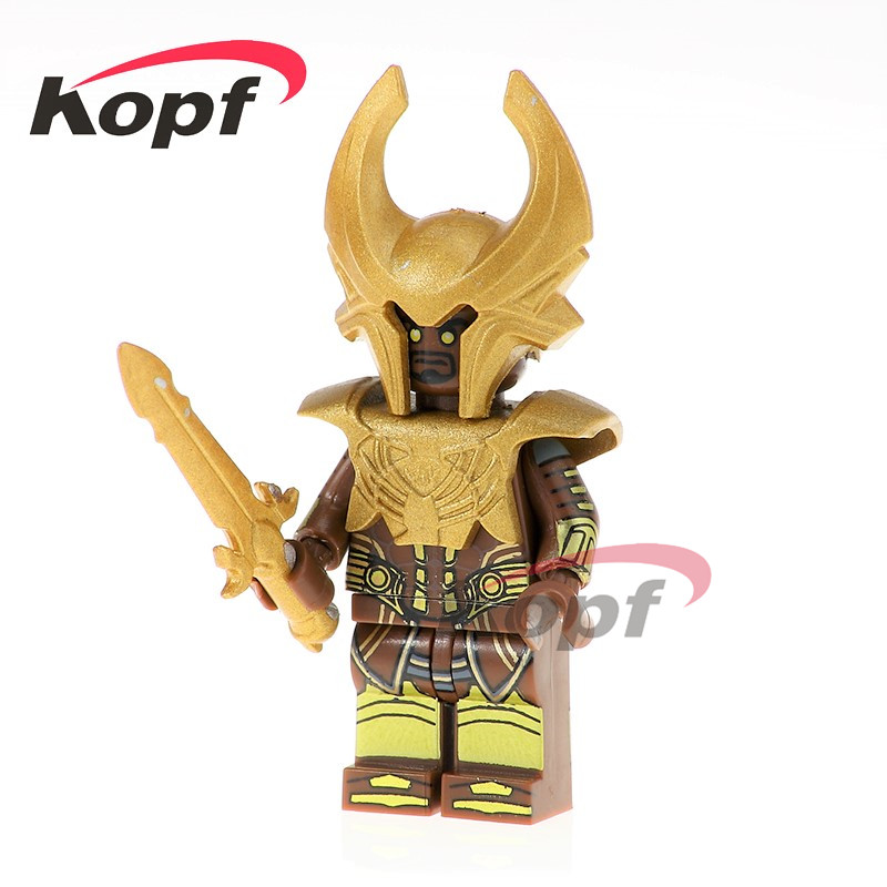 PG1124  Super Heroes Cartoon Movie Heimdall Heimdallr Journey into Mystery Alien Building Blocks Collection Children Toys Gift пылесос mystery mvc 1124
