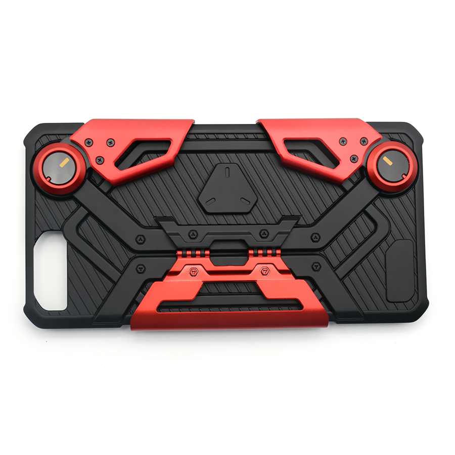 Adjustable Crab Style Mobile Case Hidden Game Handle with Stand for iPhone 6/6s plus 7/7 plus