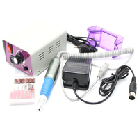 15w 25000 RPM Electric Nail drill Manicure Pedicure kit Stainless Steel Nail tools