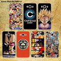 Japanese anime dragon ball Z design transparent clear hard case cover for Samsung galaxy j7 j5 j3 j2 j1 e7 e5 c7 c5 c9Pro