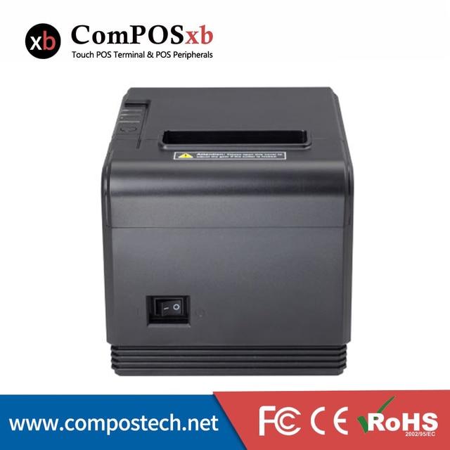 Imprimante thermique 80mm, bon marché, pour tickets de caisse, TP200, avec Interface RS232/USB/LAN 2