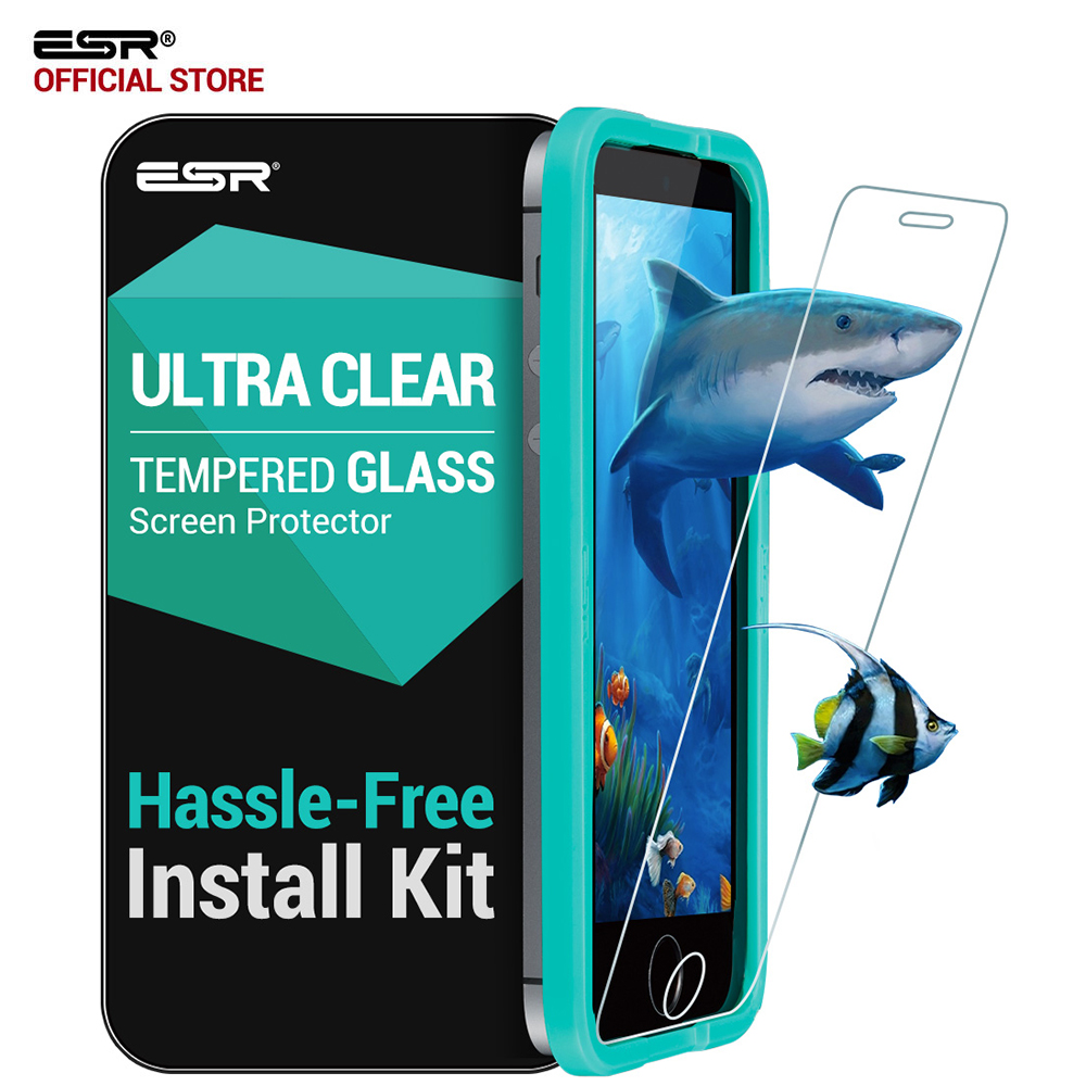 screen-protector-for-iphone-5s-esr-triple-strength-9h-tempered-glass-screen-protector-with-free-font