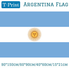 Free shipping 90*150cm/60*90cm/40*60cm/15*21cm Argentina flag For World Cup National Day Olympic Games