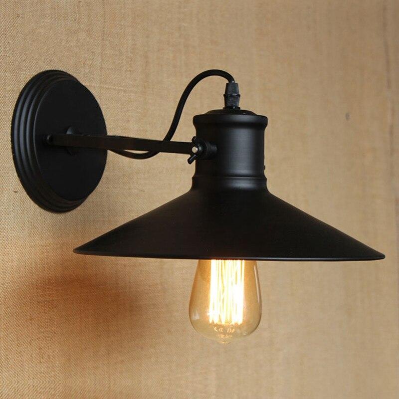 ФОТО Vintage RH Loft Industrial Wall Light Edison Wall Lamp For Bar Cafe