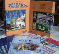 Puerto Rico with 2 extensions borad game