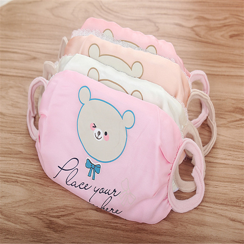 10pcs/Bags New Ladies Spring And Summer Thin Section Sweet And Lovely Cartoon Embroidery Cotton Sunscreen Dust Masks