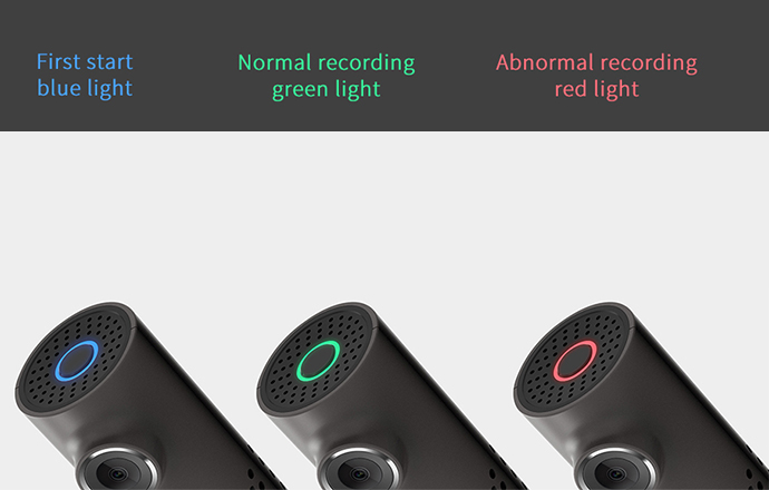 Cámara inteligente de Control de voz para coche