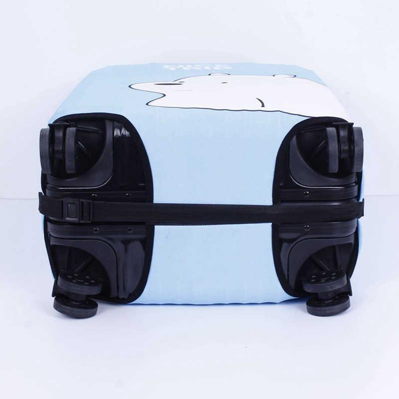 Encantadora equipaje cubierta de viaje maleta cubierta protectora 18-32 pulgadas equipaje a prueba de polvo caso accesorios de viaje H76