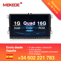 MEKEDE 9 Android 8.1 Car GPS Navigation for VW GOLF 5 ,6 Polo Passat b5, Jetta Tiguan Touran Skoda,seat,canbus,steering wheel