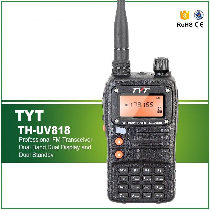 Brand New TYT TH-UV818 Radio Walkie Talkie Radio Portatile VHF 136-174 mhz UHF 400-470 mhz 5 w 128CH RicetrasmettitoreBrand New TYT TH-UV818 Radio Walkie Talkie Radio Portatile VHF 136-174 mhz UHF 400-470 mhz 5 w 128CH Ricetrasmettitore