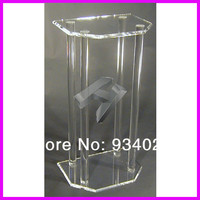 Clear Perspex Dails Acrylic Organic Glass Church Pulpit Lectern