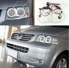 Para Volkswagen VW T5 Multivan 2003-2009 Excelente Ultrabright led Angel Eyes iluminación smd led Ángel Anillo Halo de Los Ojos kit