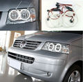 Para volkswagen vw multivan t5 2003-2009 excelente ultrabright led angel eyes iluminação smd led angel eyes kit de halo anel