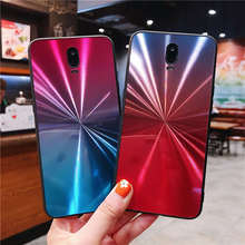 Laser Gradient Colorful Case For OPPO F5 F9 F11 Pro F7 A5 A3S A7X A59 F1S A79 A73 Cover R17 cases coque
