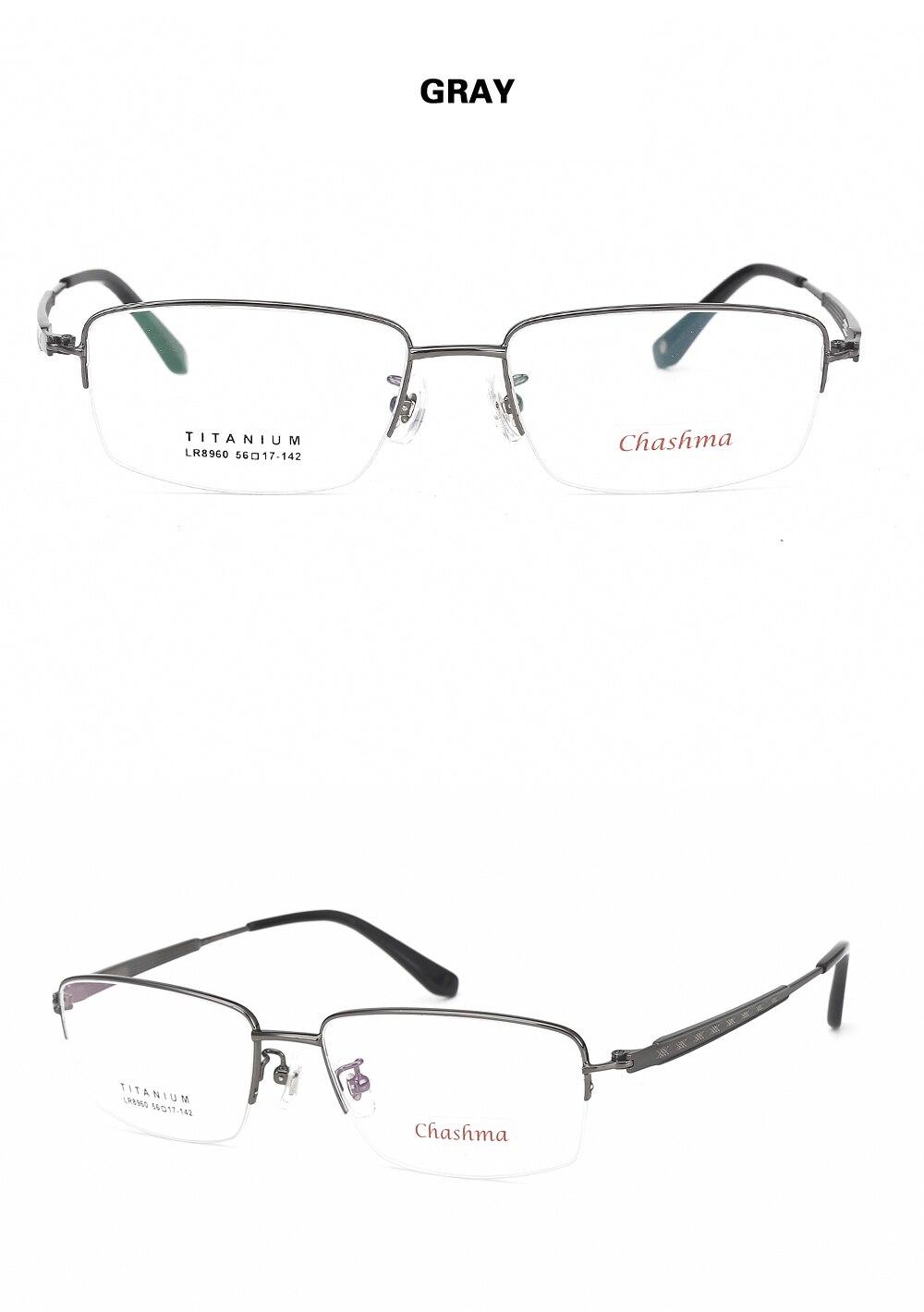 a2b0f2d602 ... Frame Men Titanium Half Rimmed Gafas Titanium Eye Glasses Frames for Men  Spectacles. xq Size 1 YS YS2 YS3 YS4 xijie. FQA for Prescription Lenses