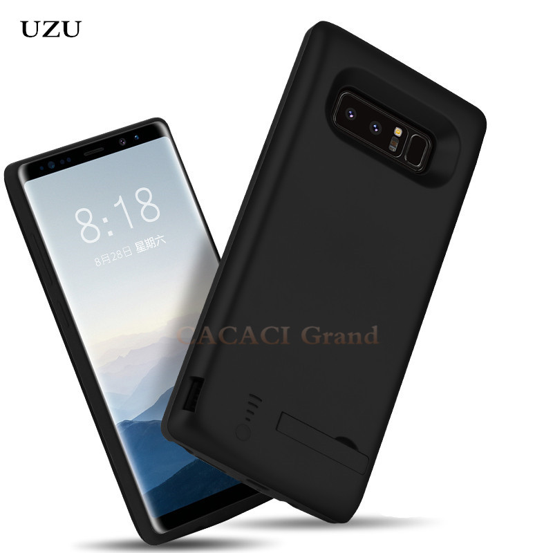 CACACI 6500mAh For Samsung Galaxy Note 8 Battery Charger Case Power Bank Pack External Charger Cover Charge Battery Cases Note8