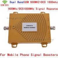 Frete grátis 2G GSM DCS 900Mhz 1800MHz Dual Band Mobile Phone Signal Booster  mini 2G DCS Repetidor de Sinal GSM + Adaptador de Energia|Estação de retransmissão| |  -