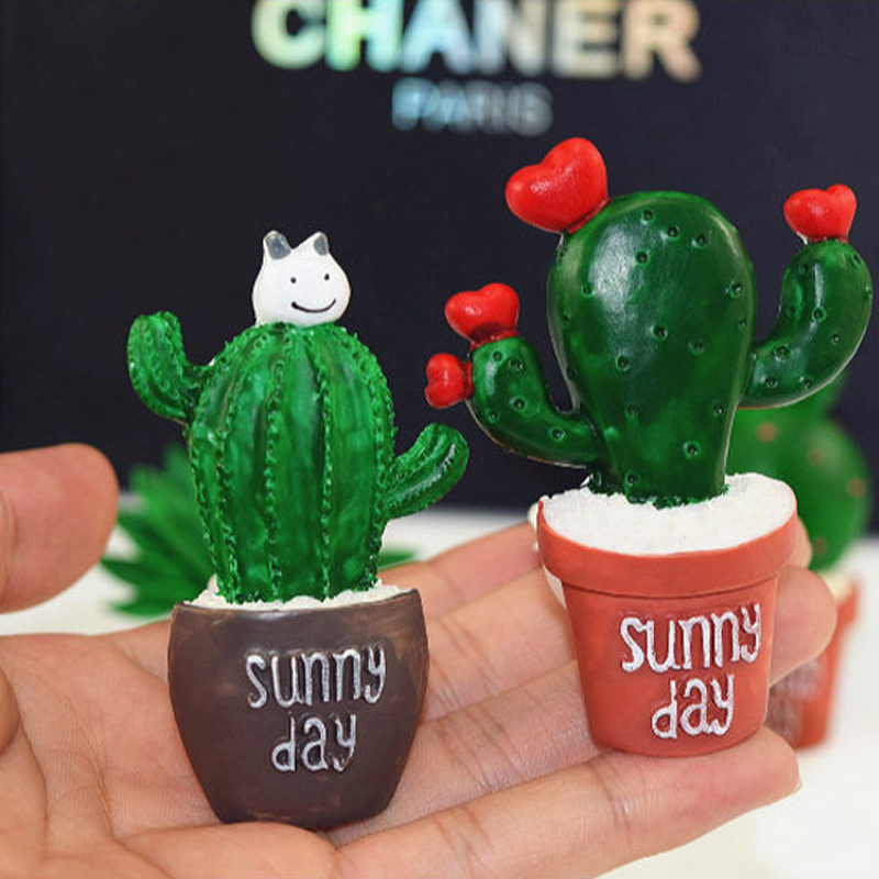 Image 5 - Car Air Conditioning Vent Perfume Clip Resin Cactus Creative Cute Air Freshener Fragrance Clip Solid Balm Decoration Ornaments-in Ornaments from Automobiles & Motorcycles