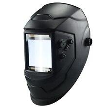 4 Arc Grinding Helmet  Cap Welding Mask Welding Lens Lens TIG MIG Protecter Big View Solar Auto Darkening
