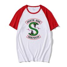 2019 Riverdale T shirt Women Summer Tops SouthSide Serpents Jughead Female TShirt Clothing South Side t-shirt ulzzang
