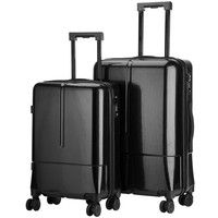 High quanlity PC suitcase luggage women mens travel trolley box suitcases rolling Business computer bag Silent universal wheel
