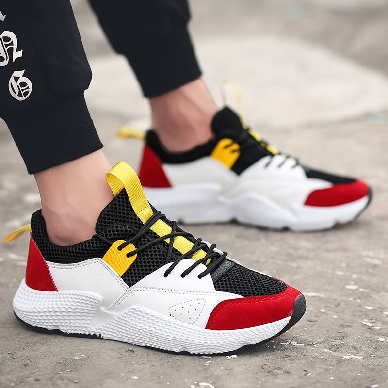 Men Lightweight Breathable Flats Mesh Shoes Men Summer Casual Shoes tenis masculino Spring Autumn Male Designer Shoes Sneaker