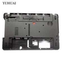 Caso Inferior do portátil Para Acer Aspire E1-571 E1-571G E1-521 E1-531 E1-531G E1-521G Tampa Da Base AP0HJ000A00 AP0NN000100