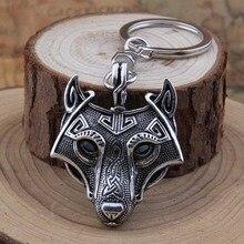 Yage 4Colors 1pcs Talisman Norse Viking Sword Amulet Keychain Pendant Antique Silver Antique Bronze Antique Black Antique Copper