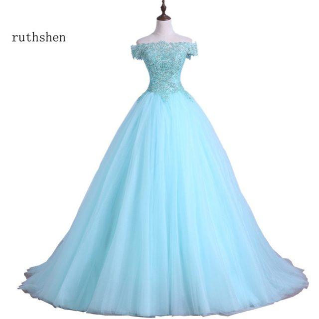 Mint Green Sweet Fifteen Dresses