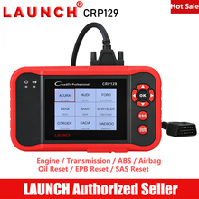 LAUNCH CRP129 OBD2 Scanner Car Diagnostic Tool Engine Autoscanner Diagnostics Transmission ABS Airbag EPB SAS Oil Reset CRP 129 цена