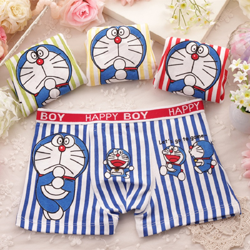 2 - 10 Years Old 3 Kinds Children's   Panties   Boys Briefs Child Underpants Kids Underwear Baby Knickers Cartoon Underclothes