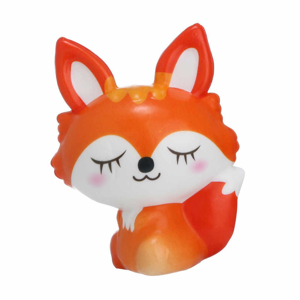 Игрушка-давилка Kawaii очаровательны лиса игрушка замедлить рост крем Ароматические стресса игрушки подарки Хлюпать антистрессовые игрушки 19May06 P35