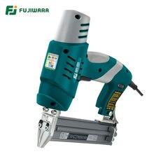 Fujiwara pistola de pregos elétrica de uso único/de uso duplo grampeador de unhas 422j nails f30 ferramentas de carpintaria de pistola de pregos reta