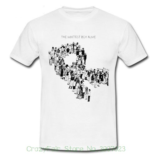 The Whitest Boy Alive Rules Burning Kings Of Convenience T-shirt S M L Xl 2xl Man Print T-shirt Hipster