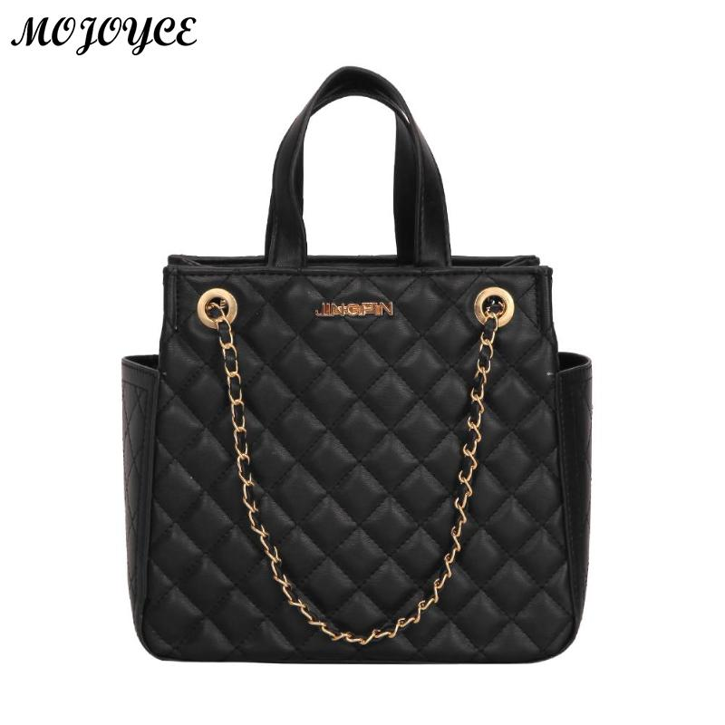 a68b5464ed84 Online sale   Luxury Handbags Women Bags Designer Brand Tote Casual PU  Leather Chain Large Shoulder Bag Crossbody Bags For Women 2019 New-in  Shoulder Bags ...