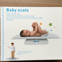 2017 High Quality Scales Smart Electronics Baby Scale Night Vision Blue Film LCD Screen ABS Accurate Range of 40KG Children